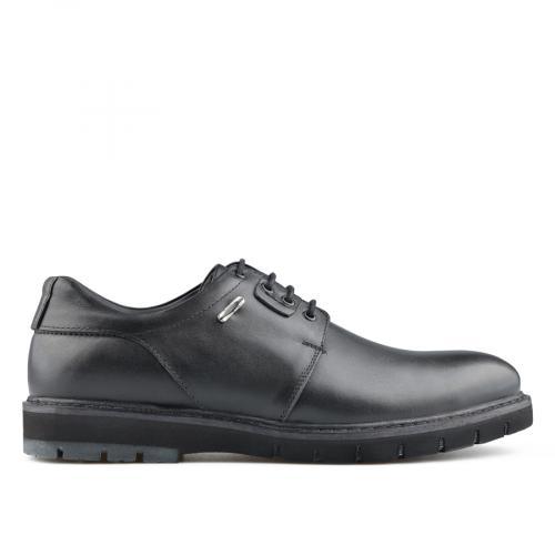 мъжки ежедневни обувки черни 0139512