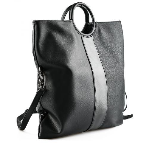 дамска ежедневна чанта черна 0141875