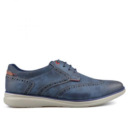 мъжки ежедневни обувки сини 0136985