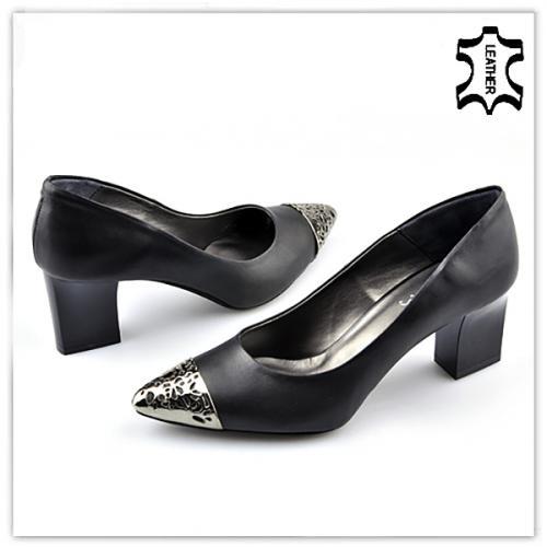 дамски елегантни обувки черни 0121736