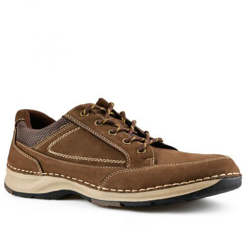 мъжки ежедневни обувки кафяви 0142116