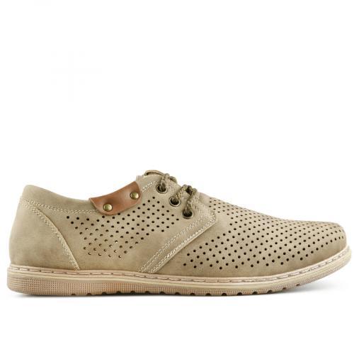мъжки ежедневни обувки бежов 0140278