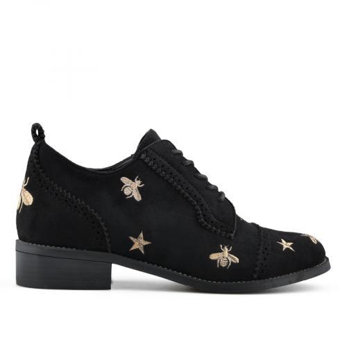 дамски ежедневни обувки черни 0138788