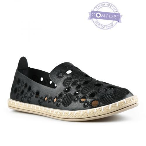 дамски ежедневни обувки черни 0142578