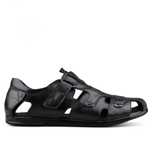 мъжки сандали черни 0138501
