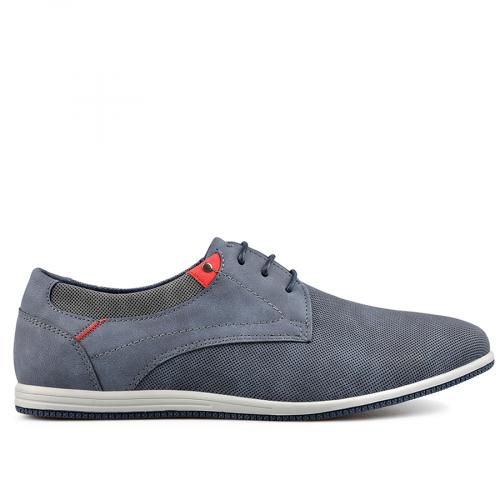мъжки ежедневни обувки сини 0136989