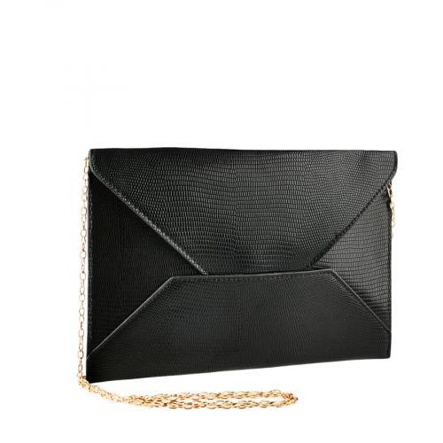 дамска елегантна чанта черна 0140913