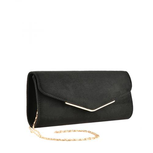 дамска елегантна чанта черна 0139856