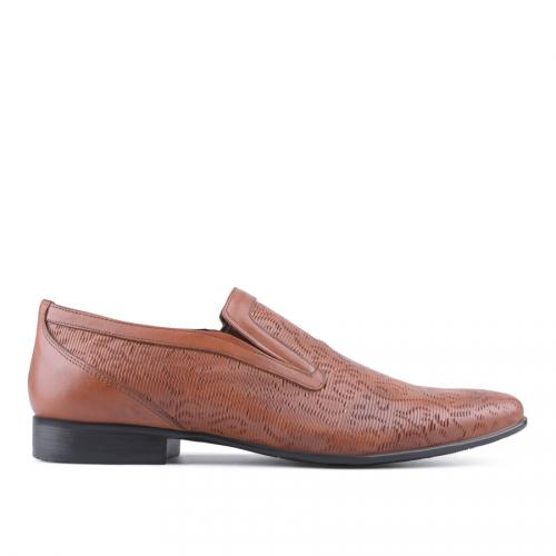 мъжки елегантни обувки кафяви 0127477