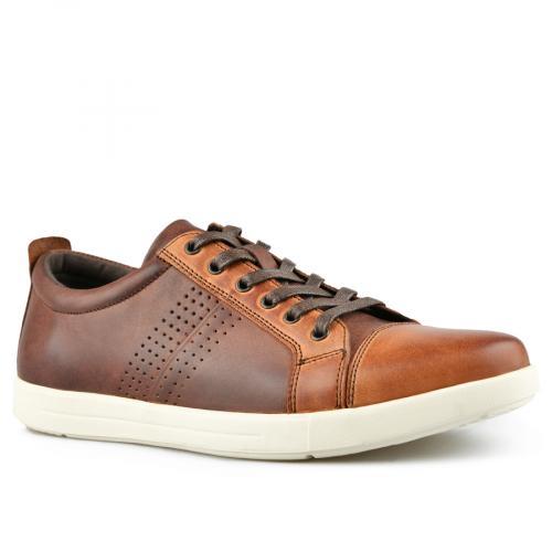 мъжки ежедневни обувки кафяви 0143456