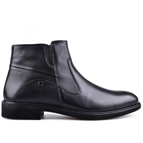 мъжки елегантни боти  черни 0132831