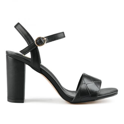 дамски елегантни сандали черни 0143225