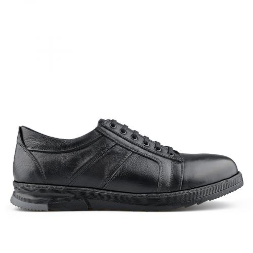 мъжки ежедневни обувки черни 0139726