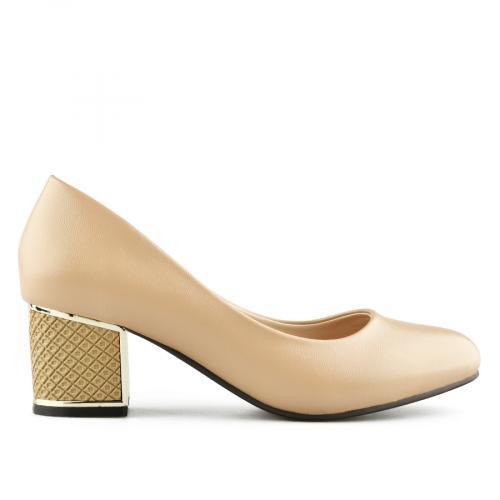 дамски елегантни обувки бежови 0141028