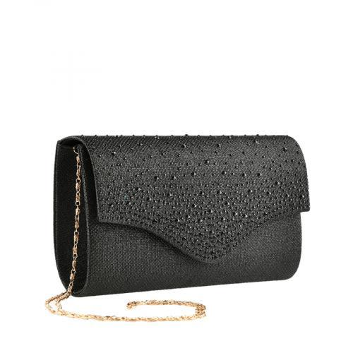 дамска елегантна чанта черна 0139864