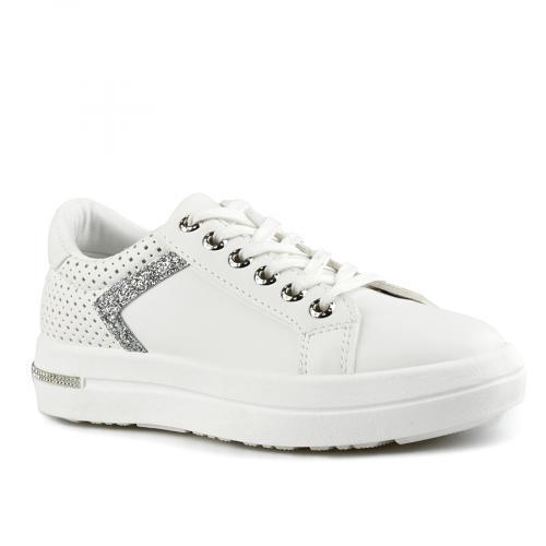 дамски ежедневни обувки бели 0143507