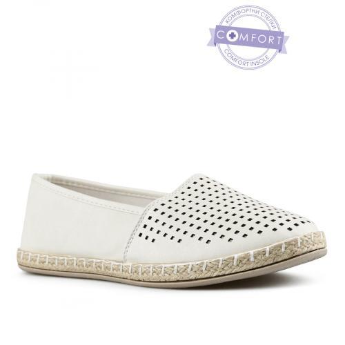 дамски ежедневни обувки бели 0142569