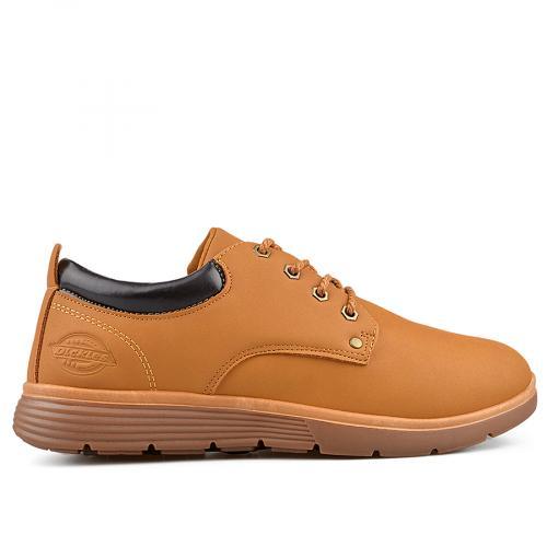мъжки ежедневни обувки кафяви 0135484