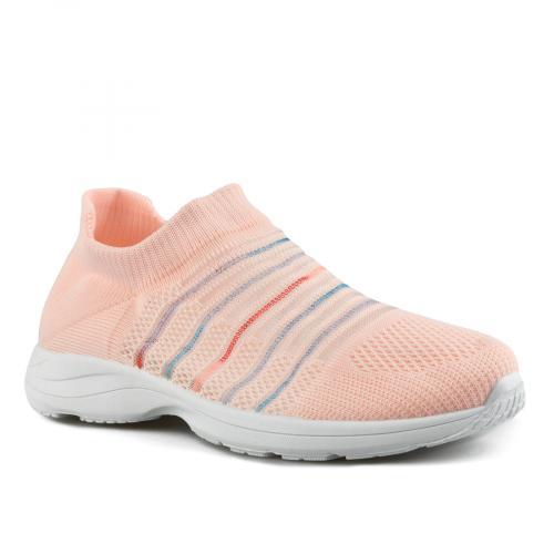 дамски ежедневни обувки розови 0143509