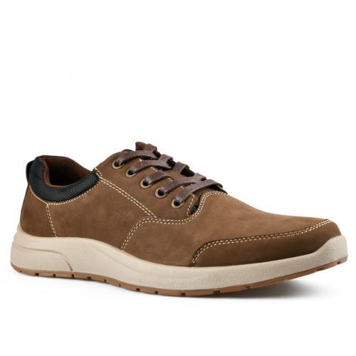 мъжки ежедневни обувки кафяви 0142115