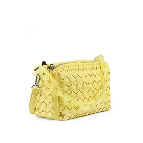 дамска ежедневна чанта жълта 0143624