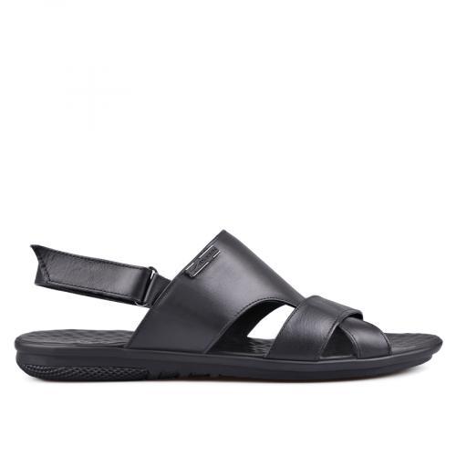 мъжки сандали черни 0132058