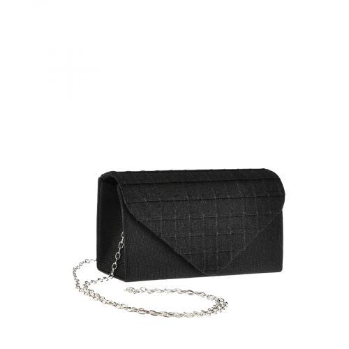 дамска елегантна чанта черна 0143792