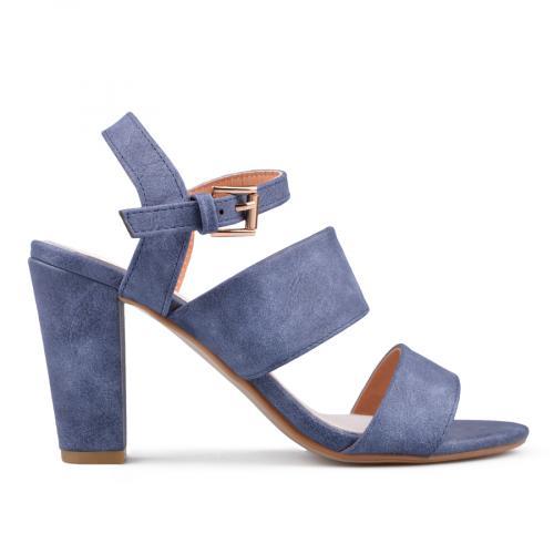 дамски елегантни сандали сини 0134068