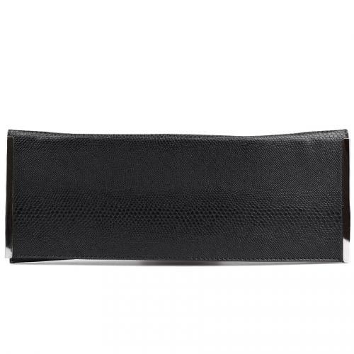 дамска елегантна чанта черна 0123999