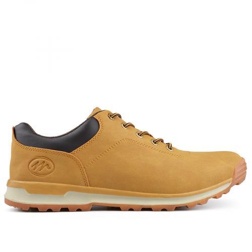 мъжки ежедневни обувки кафяви 0135592