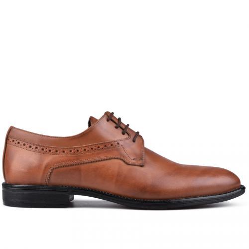мъжки елегантни обувки кафяви 0129025