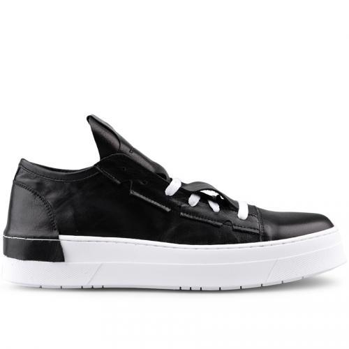 мъжки ежедневни обувки черни 0124917