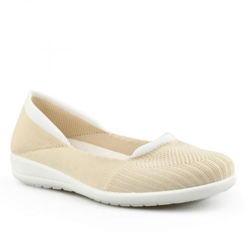 дамски ежедневни обувки бежови 0142014
