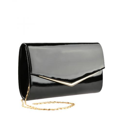 дамска елегантна чанта черна 0139868