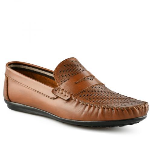 мъжки ежедневни обувки кафяви 0141239