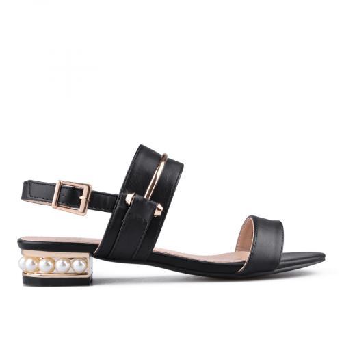 дамски елегантни сандали черни 0133863