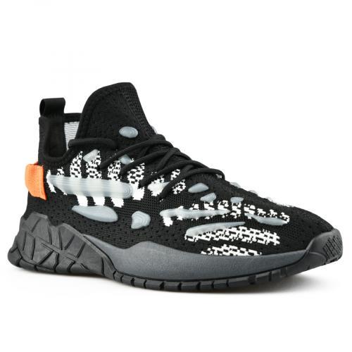 мъжки ежедневни обувки черни 0142804