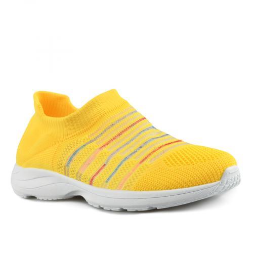 дамски ежедневни обувки жълти 0143511
