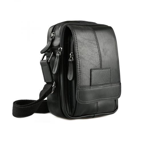 мъжка ежедневна чанта черна 0143841