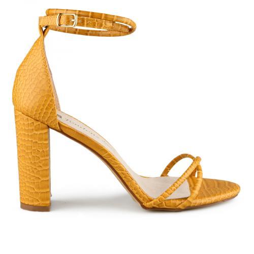 дамски елегантни сандали жълти 0140044