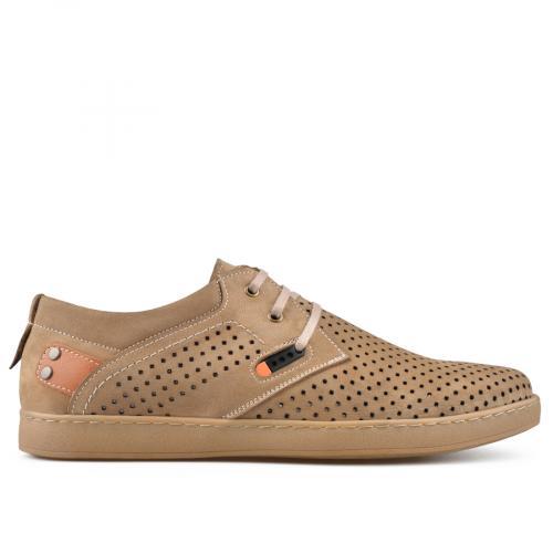 мъжки ежедневни обувки кафяви 0138409