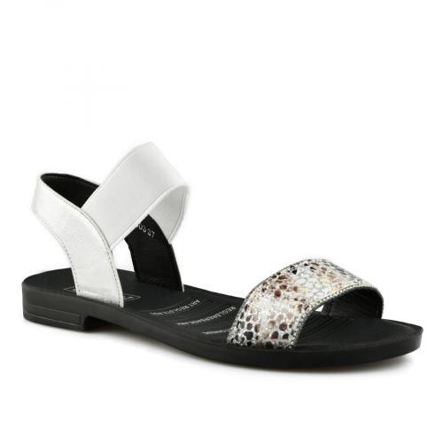 дамски ежедневни сандали бели 0140557