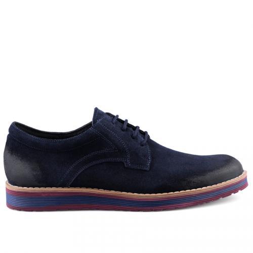 мъжки ежедневни обувки сини 0126088