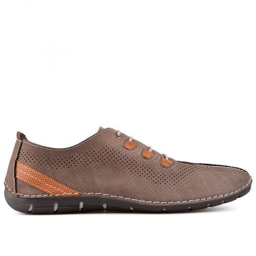 мъжки ежедневни обувки кафяви 0138391