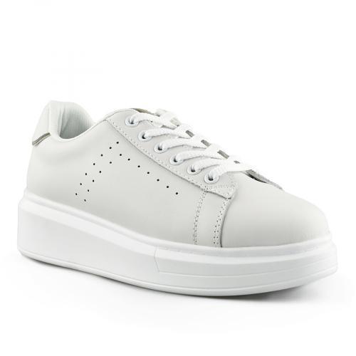 дамски ежедневни обувки бели 0139733