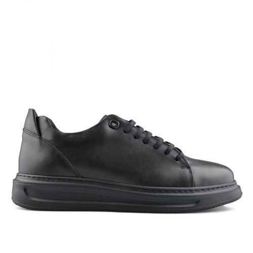 мъжки ежедневни обувки черни 0139442