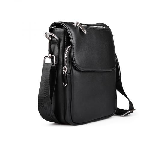 мъжка ежедневна чанта черна 0132453