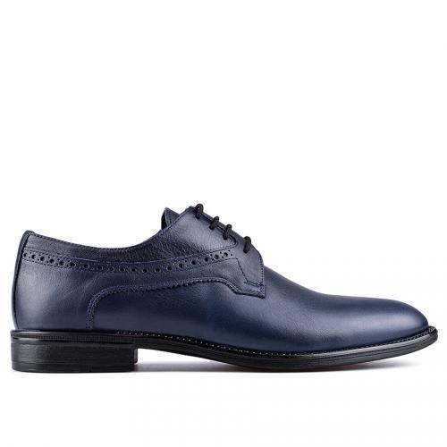 мъжки елегантни обувки сини 0129024