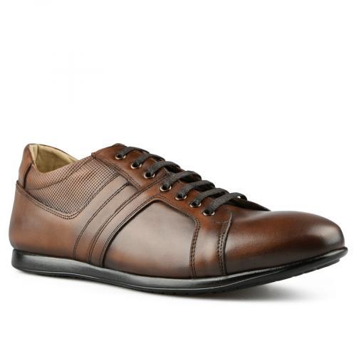 мъжки ежедневни обувки кафяви 0144272