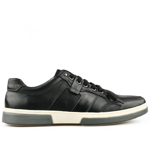 мъжки ежедневни обувки черни 0140736